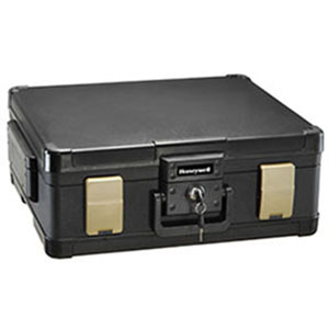 Waterproof 1 Hour UL Fire Safe Chest for Digital Media, Legal, Letter, & A4 Sized Documents Laying Flat
