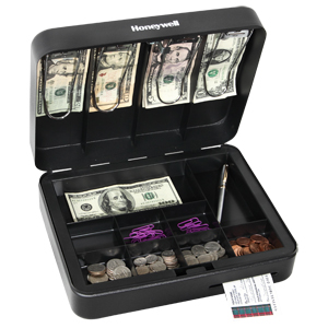 Deluxe Steel Cash Box
